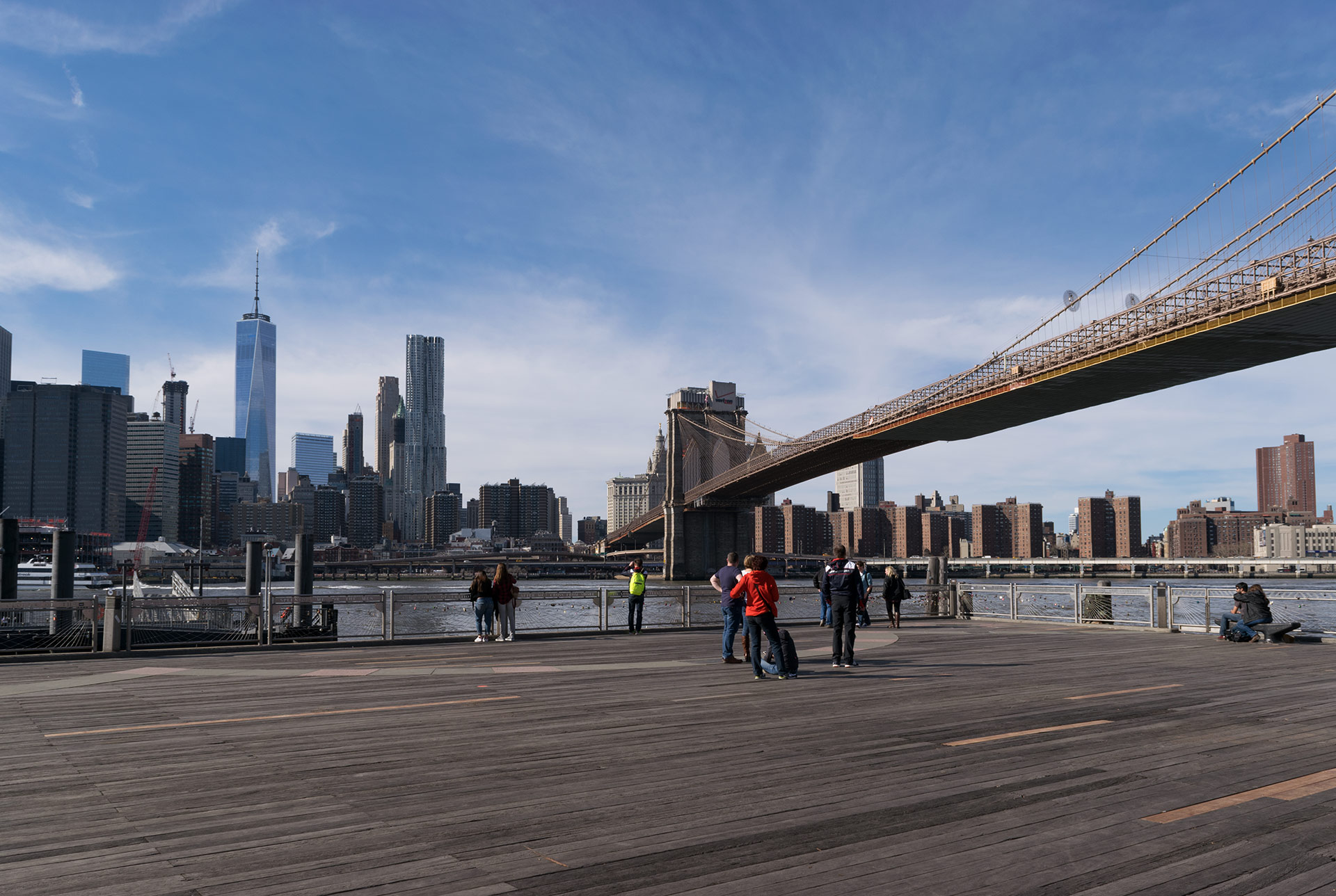 brooklyn bridge in new york city thisamerica. Black Bedroom Furniture Sets. Home Design Ideas