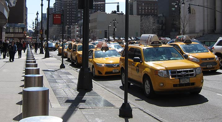 taxi-in-new-york